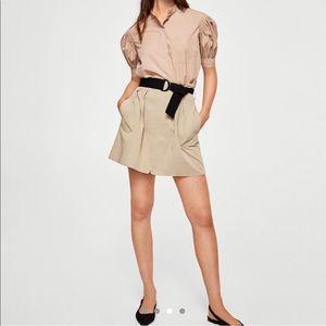 Mango Skirts - Mango skirt with black belt
